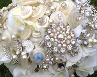 Romance Button Bouquet