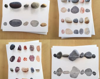 Rock Collection Greeting Cards