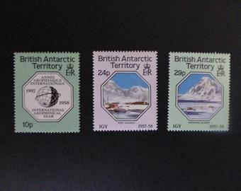 BRITISH ANTARCTIC TERRITORY  ~  Int'l. Geophysical Year 1957-1958