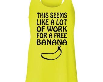 Free Banana - Running Tank Top