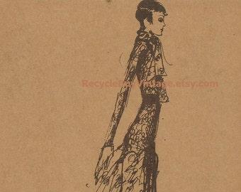 vintage. 70s. art. print. drawing. fashion. illustration. artwork. home decor. retro. fashion illustration. fashion sketch. fashion wall art