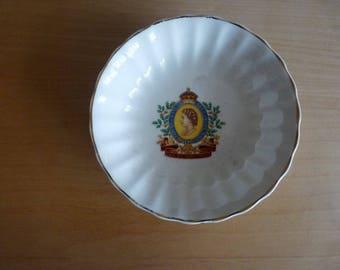 Vintage Queen Elizabeth the Second Coronation Dish