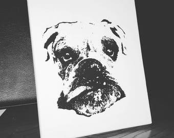 Canvas Pet Portrait 8x10