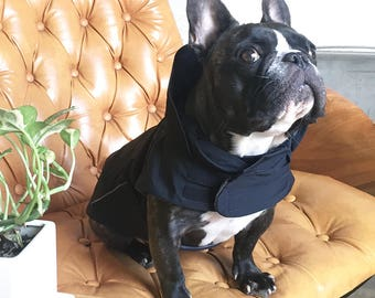 High Collar Winter Coat (Black)