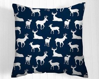 Pillows, Cover, Lodge Style  Pillow, Decorative Pillows, Blue Pillow Covers, Decorative Pillows, Cushion, Pillows, Throw Pillow,   Pillow