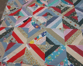 Quilt Tops, Vintage Quilt Top, Bedding