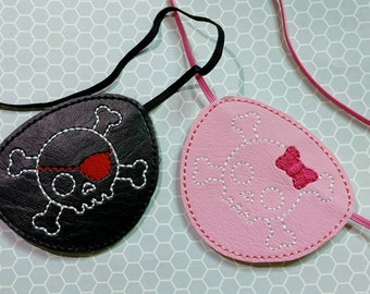 Pirate Eye Patch Pretend Play Choice Of Bow Or Eyepatch