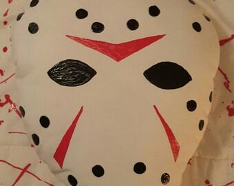 Friday the 13th Jason Hockey Mask Pillow