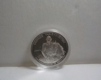 1982, Silver, Half Dollar, 250th Anniversary, of George Washington's Birth. in plastic cover