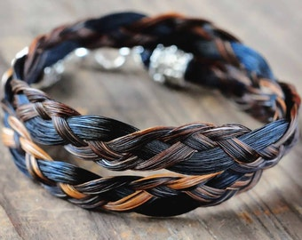 Custom horse hair bracelets and horse jewelry by shdstudios horse hair bracelet horse hair jewelry horse lover gift cowboy jewelry cowgirl solutioingenieria Choice Image