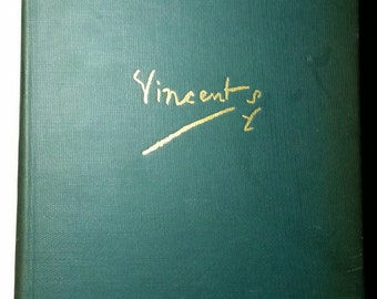 A Biographical Study of Vincent Van Gogh, Published 1933