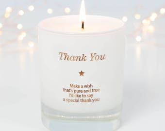Thank You Gift , Thankyou Gift , Wedding Thank You , Appreciation Gift , Thank You Bridesmaid , Thanks Giving Gift ,Scented Candles