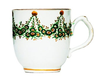 Gift Tag - Newhall Cup, Circa 1785