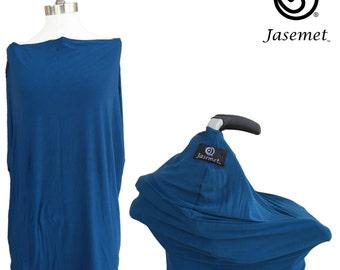 Nursing Scarf, Breastfeeding Cover, Nursing Cover, Breastfeeding Scarf, Nursing Poncho, Infinity Scarf, BLUE JASEMET