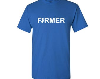 New Jersey Farmer Shirt, New Jersey Shirt, Farming Shirt, Gifts for Farmers, Christmas Gift, Farming gifts, Farmer gifts