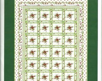 Strawberry Fields Quilt Pattern by Hilary Bobker