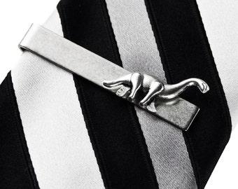 Brontosaurus Tie Clip