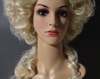 """mod. """"A L'ENFANT"""" WIG 18 century, Marie Antoinette style wig"""