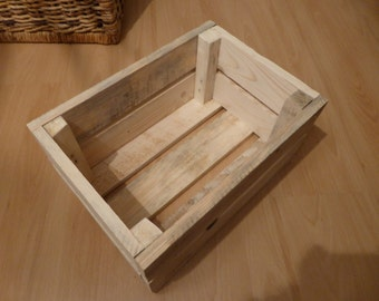 Storage Box / Crate (small) - recycled