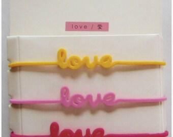 3-band message LOVE - Midori