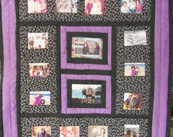 16 Photo lap size Collage - made to order with your photos!