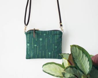 Cross Body Bag, Messenger Bag, Wanderlust, Adjustable Shoulderstrap, Small Crossbody Bag, Gift for Her, Cross Body Purse, Vegan Handbag