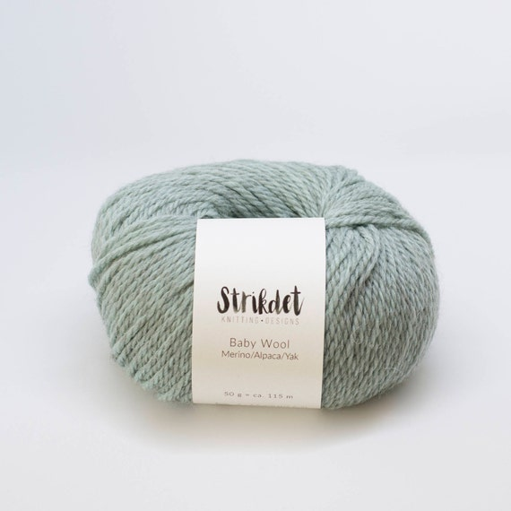 STRIKDET Baby Wool - mint green