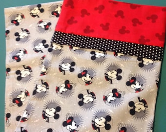 Mickey & Minnie Mouse Pillow Case- Standard Pillow