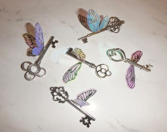Harry Potter Winged Flying Keys – Set of 5 or 10