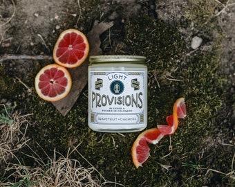 8 oz Grapefruit Oakmoss cande
