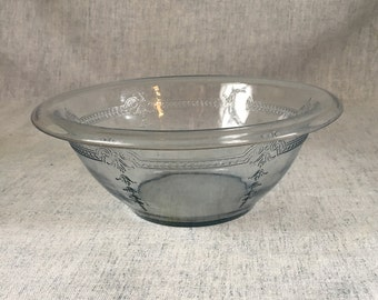 Vintage Anchor Hocking Fire King Philbe Sapphire Blue Mixing Bowl, 1.5 Quart