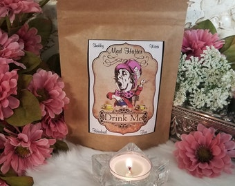 Mad Hatter Herbal Tea Blend, Certified Organic
