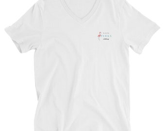 T-SHIRT Little Perks Clothing with flamingo