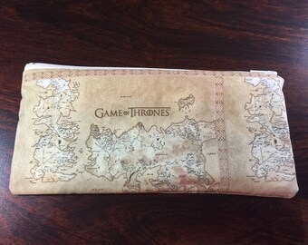 Game of Thrones Coin Purse or Pencil/Makeup bag