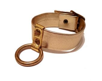 Gold Ring Cuff