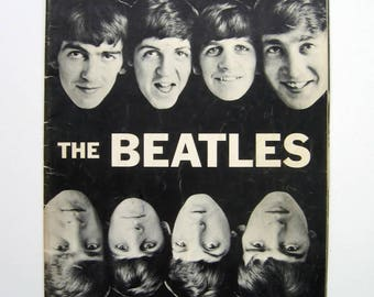 The Beatles - Pictures for Framing - 26 page booklet, 1964, full page black and white photos, Rock Memorabilia, Beatles fan, music fan, Rare