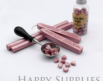 Pink / Pale Pink / Rose Golden / Light Pink / Pink Metallic Sealing Wax for Wax Seal Stamp Set
