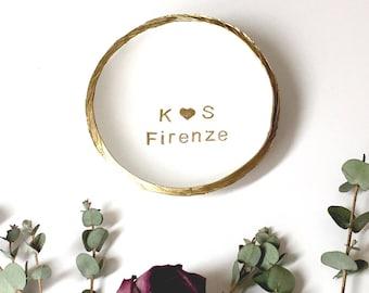 Initials and Last Name Jewelry Dish / Personalized Jewelry Dish / Personalized Ring Dish / Gifts for Her / Engagement / Wedding /Anniversary