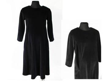 Black maternity dress. Breastfeeding dress. Maternity Dress for nursing. Maternity clothes. Nursing Dresses. One size dress