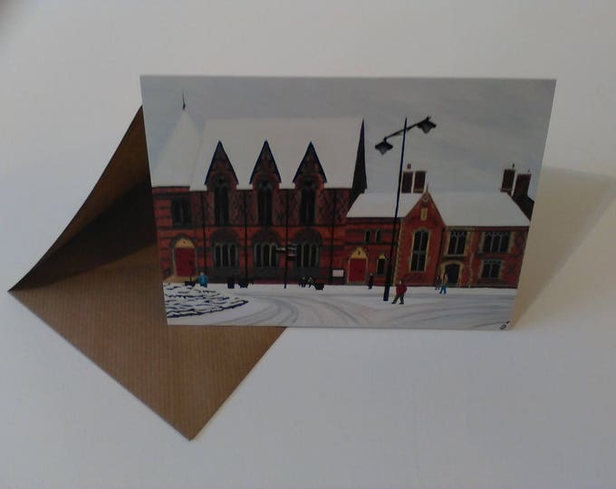 Sandbach Literary Institute - Greeting Card with Envelope in Cellophane Wrapping