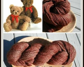 Teddy Bear Brown, 100% Superfine Alpaca, bulky