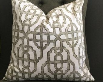 Pillow Cover, Gray Pillow Cover, NORA