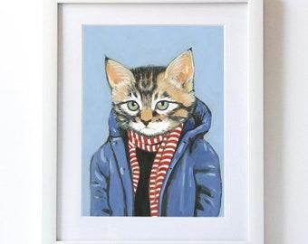 Brewster - Fine Art Print -Made by Heather Mattoon