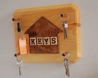 House Shaped Keyholder