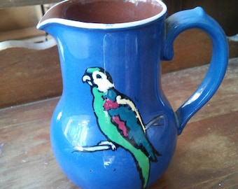 Small Parrot Pitcher Made in England
