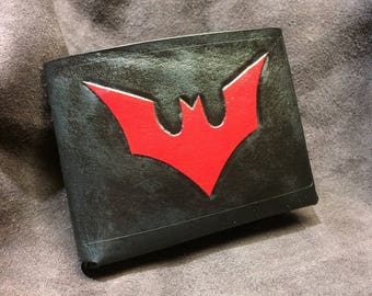 Leather batman Beyond  Wallet