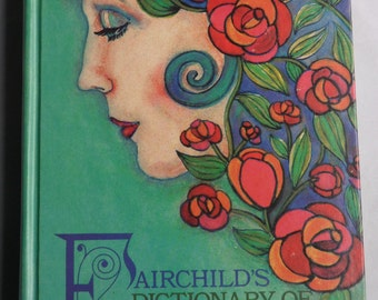 Fairchilds Dictionary of Fashion by Dr. Charlotte Calasibetta hardcover 1975