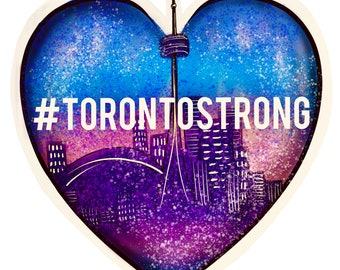 Stickers - #torontostrong to support the victims of the attack