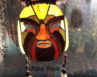 Aztec Tribal Mask