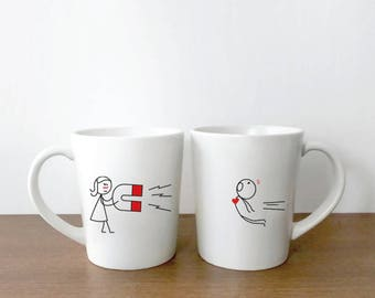 His and Hers Mugs, Valentines Gift for Him, Valentines Gift for Husband, Gift for Boyfriend, Couples Gift, You're Irresistible Couples Mugs